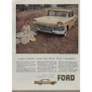 Low cost way to live like royalty.  1957 FORD Fairlane 500 Crown