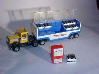 VINTAGE 1980 BUDDY L SEMI TRUCK TOY DELCO BATTERIES NR