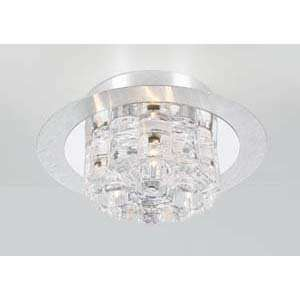 PLC Lighting 81242 Ice Age Aluminum Flush Mount