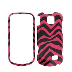 SPRINT SAMSUNG INTERCEPT M910 PINK ZEBRA SNAP ON HARD