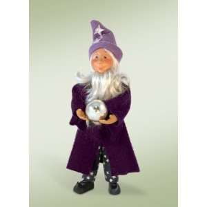 Byers Choice Carolers   Halloween   Merlin Wizard Kindle