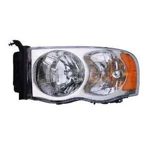 Dodge Ram 1500 2500 3500 Pickup Headlight Headlamp Driver Side New