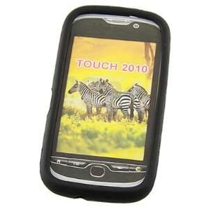 Black Silicone Skin Case For T Mobile myTouch 4G Cell