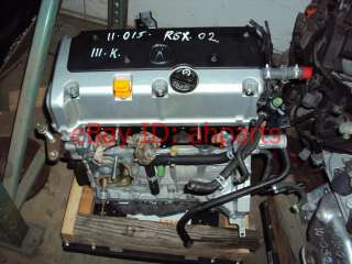 02 03 04 Acura RSX engine motor TYPE S  90 day warranty