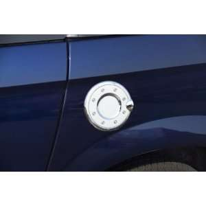 Chrome Fuel Door Cover   Silver, for the 2004 Cadillac Escalade ESV