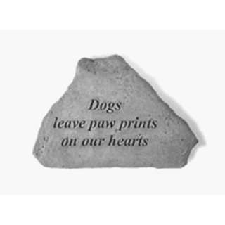 Kay Berry  Inc. 71720 Dogs Leave Paw Prints On Our Hearts