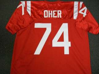 MICHAEL OHER OLE MISS AUTHENTIC STYLE JERSEY RAVENS