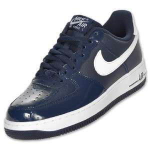 NIKE AIR FORCE 1 LOW BASKETBALL SHOE OBSIDIAN / WHITE BRAND NEW SELECT