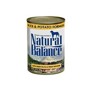 Natural Balance Duck and Potato Formula Canned Dog Food
