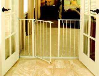 Regalo Easy Open Super Wide Walk Thru Baby / Pet Gate   White