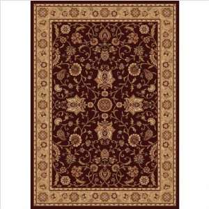 Home Dynamix Madlena Brown Gold Oriental 52 x 72 Rug