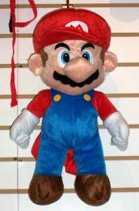 NINTENDO SUPER MARIO PLUSH DOLL BACKPACK Pillow Toy NEW