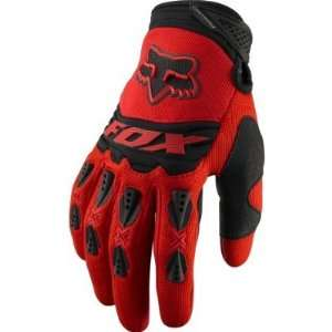 Fox Racing Youth Dirtpaw Race Glove [Red] YS(5