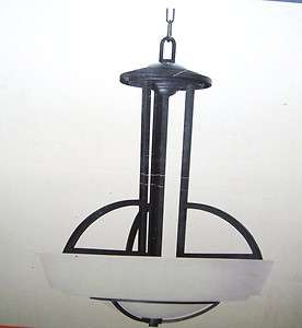 Electric Levanto 3 Light 60 in. Hanging Bronze Pendant