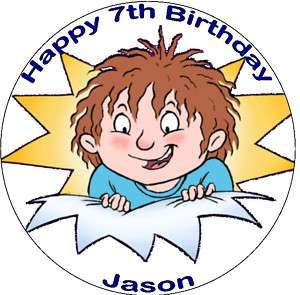 Horrid Henry 7.5 round edible icing cake topper