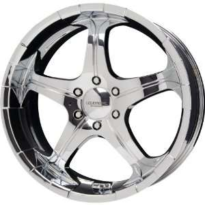 Liquid Metal Flare Series Chrome Wheel (20x8.5/5x115mm)