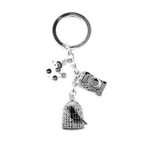 Key Chain Enamel/Metal Winter Teenager Miss Fashion Fashion Jewelry