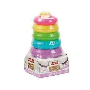 Fisher Price Brilliant Basics Rock a Stack Pastel Toys