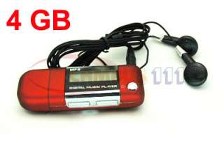 LCD Screen Voice Recorder  Music Player FM Radio USB Flash Drive