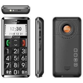 Snapfon ez ONE Cell phone for Seniors w/ big buttons, Loud speaking