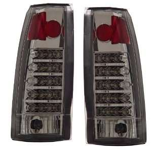 1988 1998 Chevy Full Size Truck KS LED Chrome Tail Lights Automotive