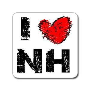 I Love Heart NH   NEW HAMPSHIRE   Window Bumper Laptop