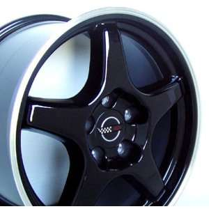 Chevy Camaro ZR Style Wheel Black Wheels Rims 1988 1989 1990 1991 1992