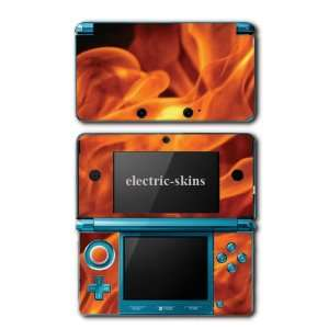 Nintendo 3DS Skins   True Fire Realistic Flames Skin Decal Kit for 3ds