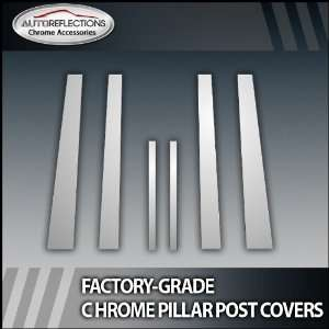 04 07 Scion Xb 6Pc Chrome Pillar Post Covers Automotive