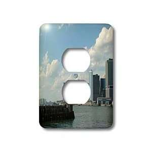 Ann Euell New York City   Skyline   Light Switch Covers