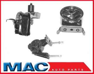 2000 2002 Toyota Echo 1.5L Engine Motor Mount Kit 3Pc