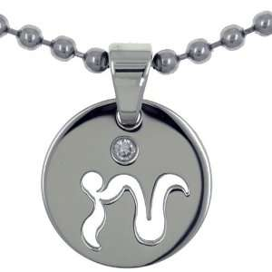 Capricorn Zodiac Stainless Steel Pendant Gifts Fathers Day Gifts