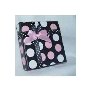 Polka Dot Gift Box 3.5 iinches high