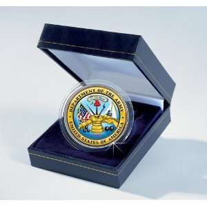 Forces Commemorative Colorized JFK Half Dollar   Army Toys & Games