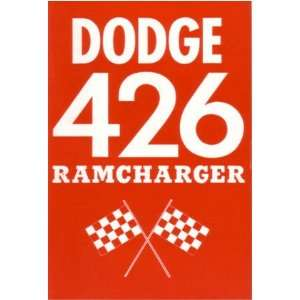 1963 DODGE 426 RAMCHARGER Owners Manual User Guide