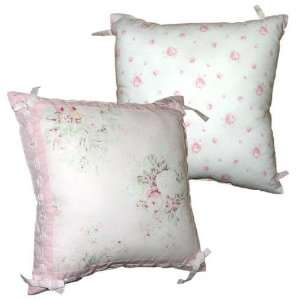Garden Rose Decorator Pillow by Rachel Ashwell
