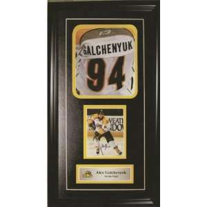 Alex Galchenyuk Autographed/Hand Signed Jersey Print