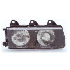 BMW 3 Series Headlight Assembly Passenger Side