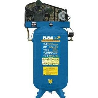 Puma Belt Drive Stationary Vertical Air Compressor   80