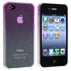 Purple Waterdrop Snap on Case for Apple iPhone 4/ 4S