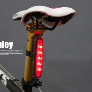 NEW Cycling Bicycle 5 LED Bike Rear Tail Lamp Light