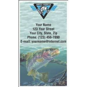 North American Fishing Club Contact Cards
