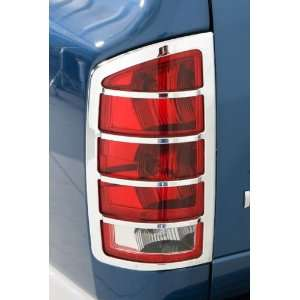 Tail Light Covers   Chrome, for the 2006 Dodge Ram 2500 Automotive