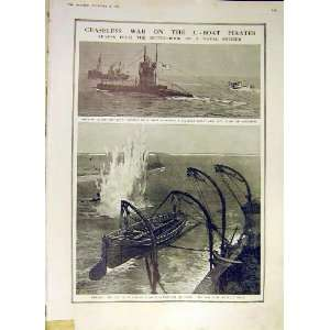 U Boat Pirates Drifter Sea Plane Submarine Hunt 1918