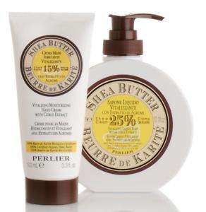 Perlier Shea Butter with Citrus Hand Care Kit NEW