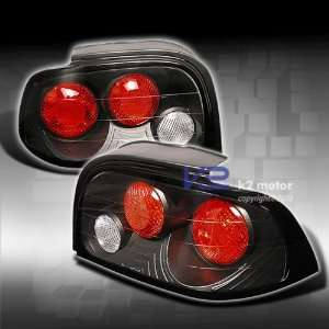 Ford Mustang Tail Lights JDM Black Altezza Taillights 1994 1995 1996