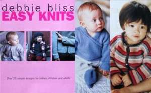 Debbie Bliss EASY KNITS Knitting Book babies kids adult
