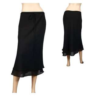 Layered long skirt  eVogues Apparel Clothing Juniors Plus Skirts
