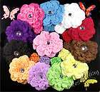 12&12 Peony Girl Toddler Baby Flower Hair Clip Bow Headbands Hat Xmas