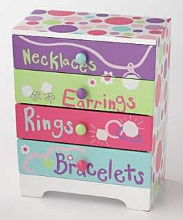 Pretty Painted Girls Wooden Jewelry Boxes, 3 Styles